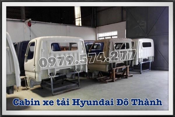 Cabin xe tải Hyundai Đô Thành IZ49, IZ65, HD99 - Phụ tùng chính hãng 1