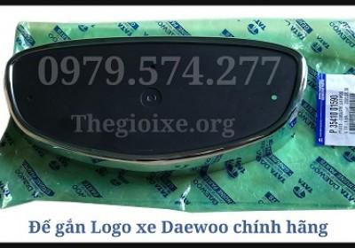 Đế Gắn Logo Daewoo Chính Hãng - Phụ Tùng Daewoo