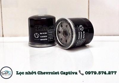 Lọc nhớt xe Chevrolet Captiva - 12303 - Phụ Tùng Phú Tiến