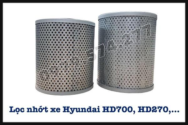 Lọc Nhớt Xe Đầu Kéo HD700, HD1000, HD270, HD320 - Phụ tùng Hyundai Chính Hãng 1