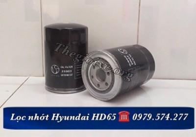 Lọc nhớt xe tải HD65 - 23303 - Phụ tùng Hyundai giá tốt