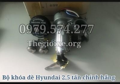 Bộ Khóa Đề Xe Tải HD65 HD72 HD78 HD99 HD120SL Chính Hãng - Phụ Tùng Hyundai
