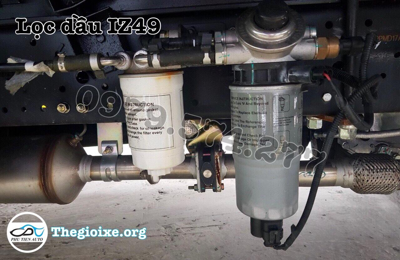 lọc dầu xe tải iz49