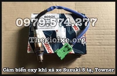 Cảm Biến Oxy Suzuki Super Carry 500kg, Thaco Towner Giá Tốt - Phụ Tùng Suzuki