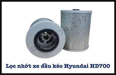 Lọc Nhớt Xe Đầu Kéo HD700, HD1000, HD270, HD320 - Phụ tùng Hyundai Chính Hãng