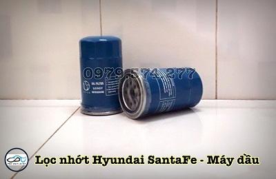 Lọc nhớt xe Hyundai Santafe máy dầu - 10307 - Phụ Tùng Phú Tiến